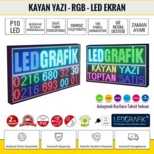 Kayan Yazı - RGB Led Tabela