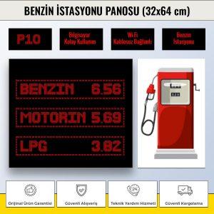 benzin istasyonu kırmızı